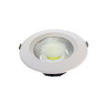 FARETTO LED 20W RIFLETTORE COB FORO PANNELLO 165MM LUCE FREDDA 6000K 1600LM OPTONICA